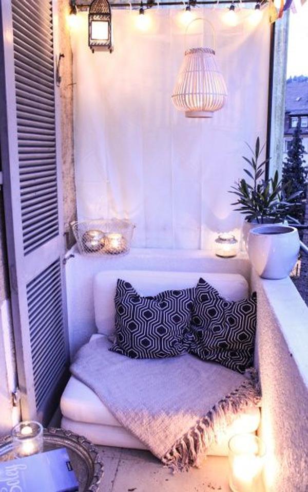 Small Balcony Lighting