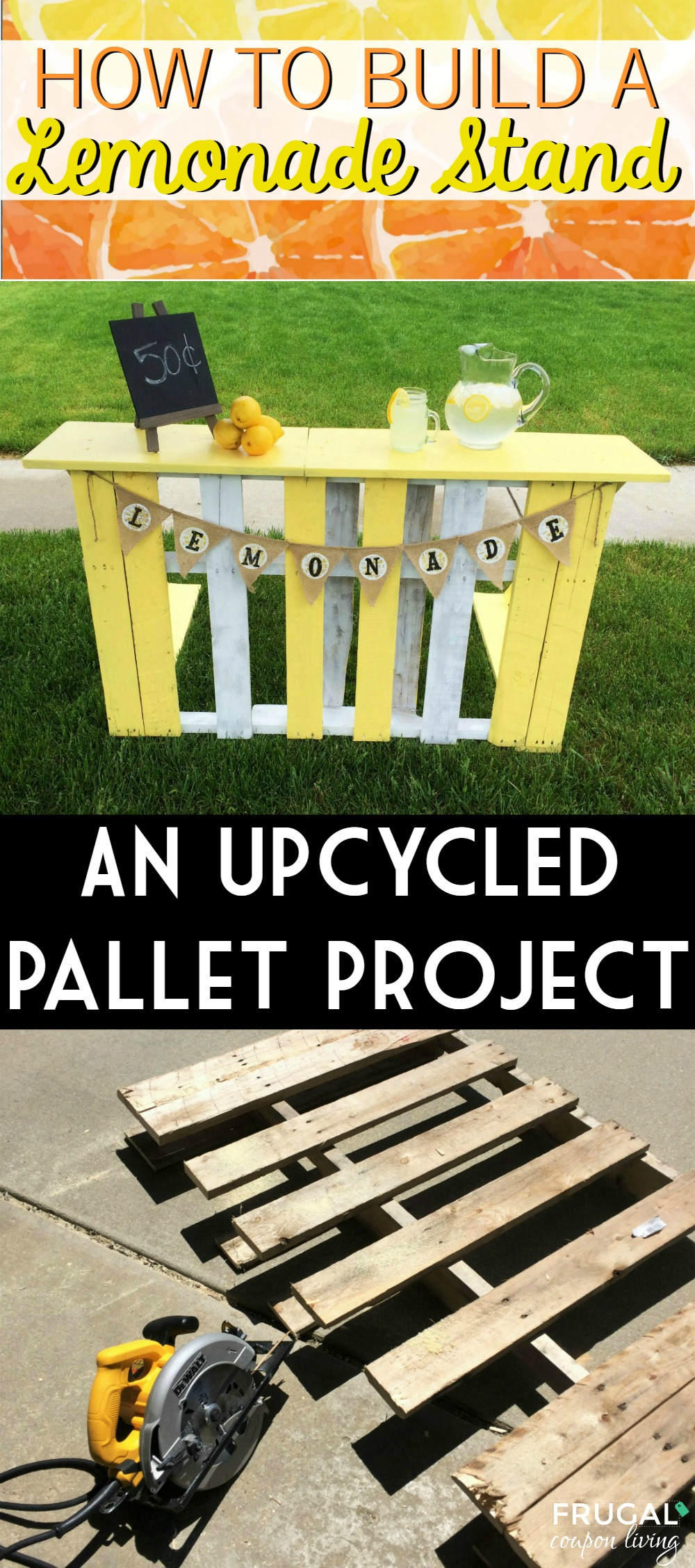 Upcycled Pallet Lemonade Stand
