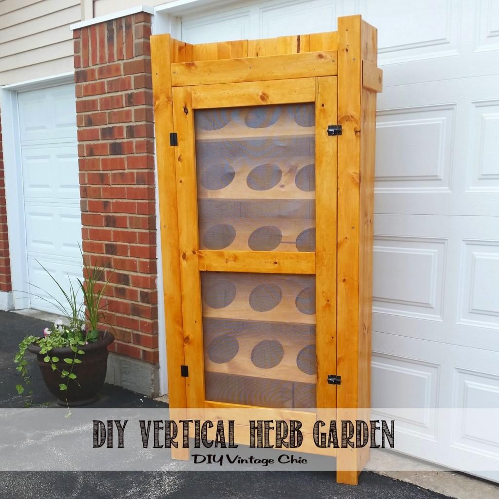 Vertical Garden Cabinet