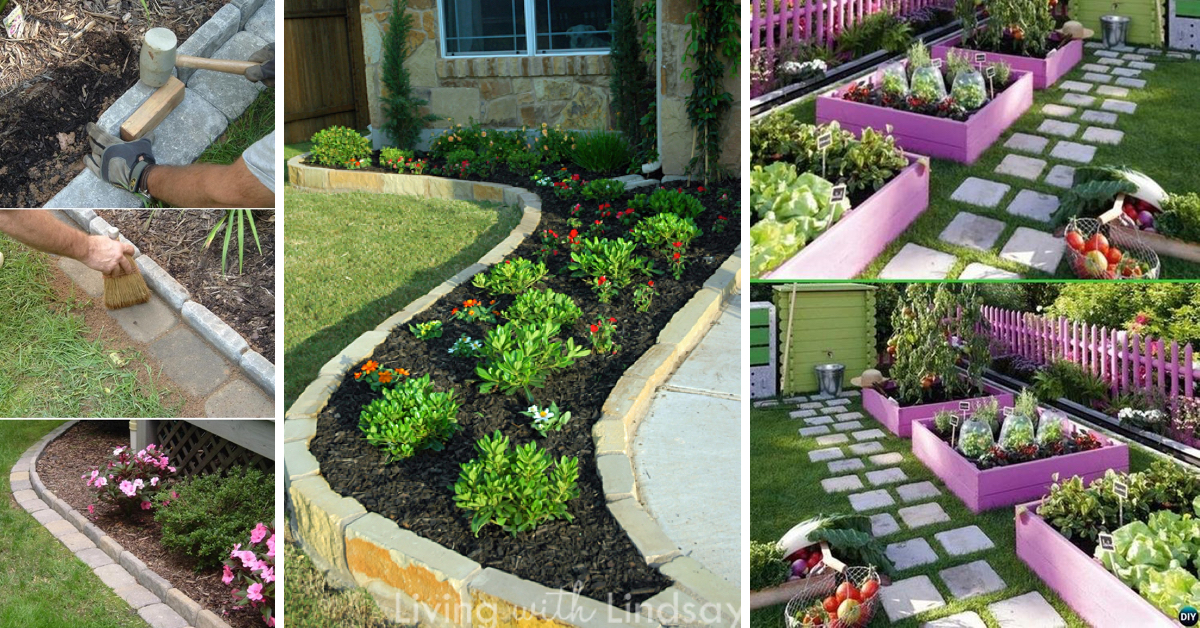20 awesome ideas for garden edges that add new character to your rh cutediyprojects com