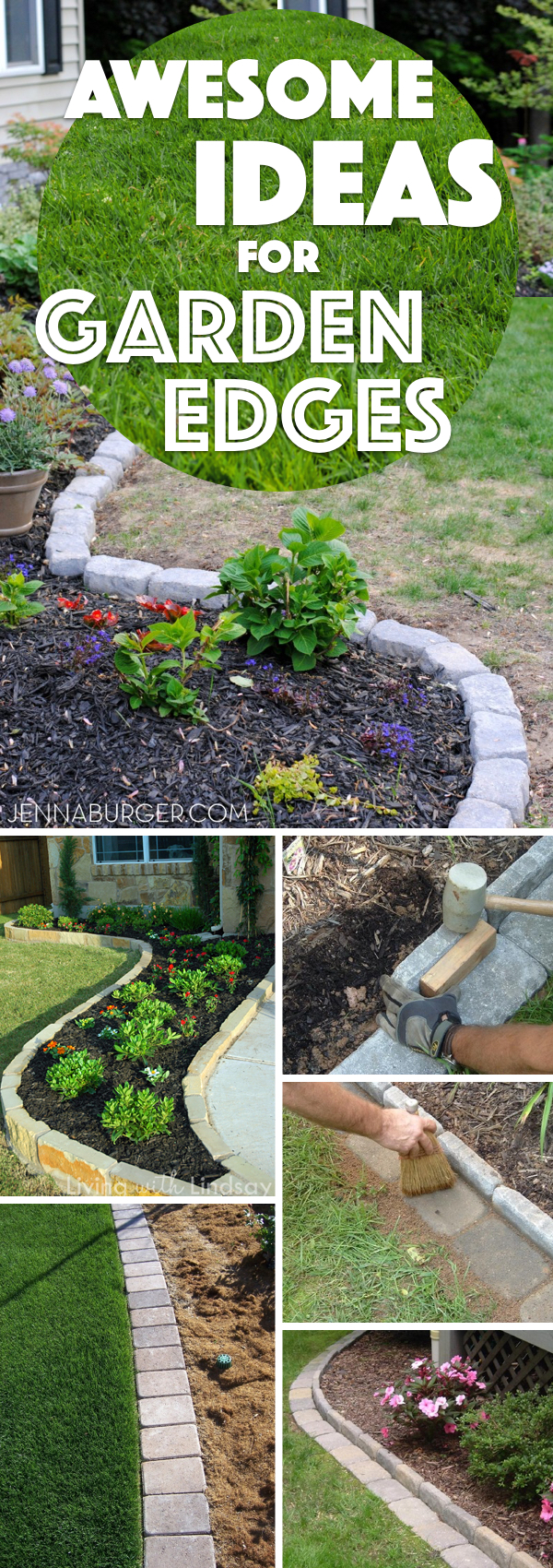 Charmant Awesome Ideas For Garden Edges