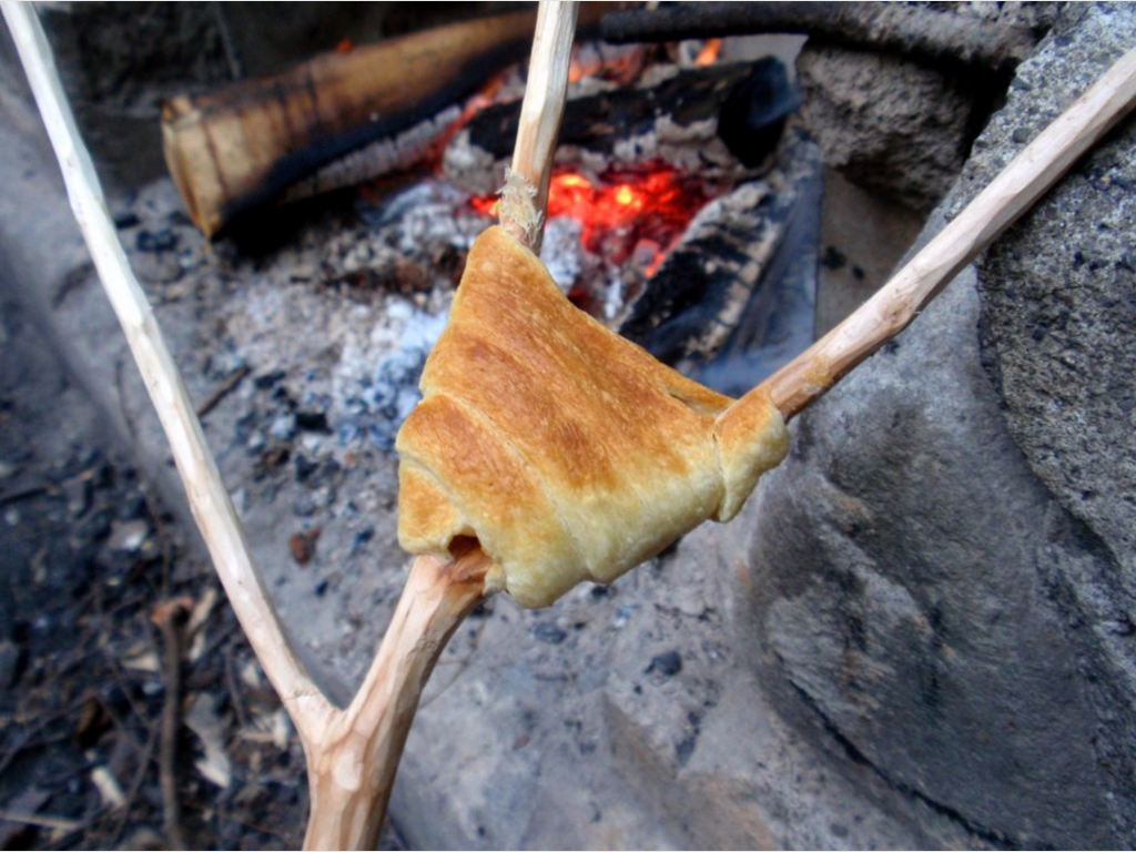 Camping Style Crescent Rolls