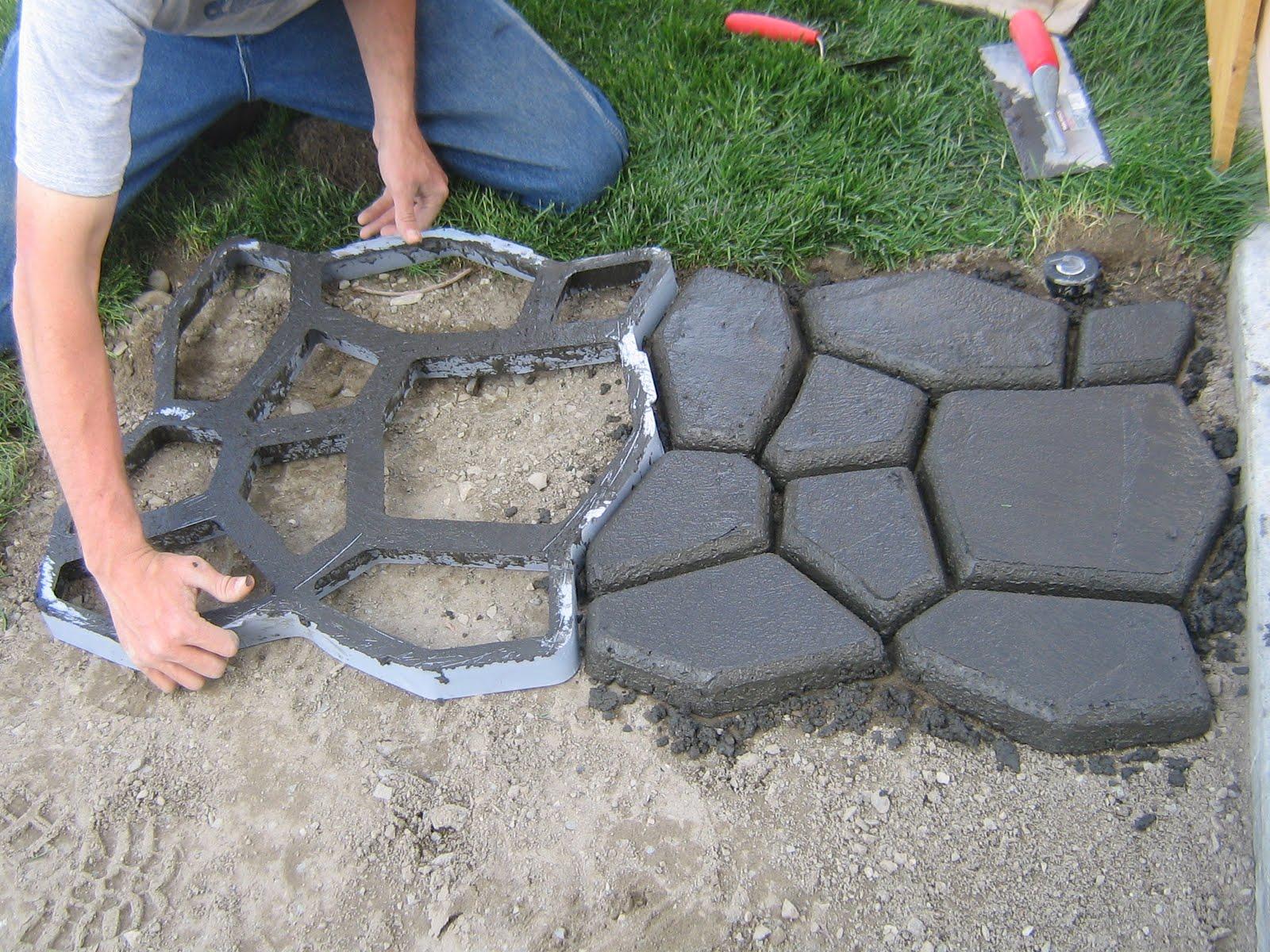 На даче своими руками ремонт бетонных дорожек