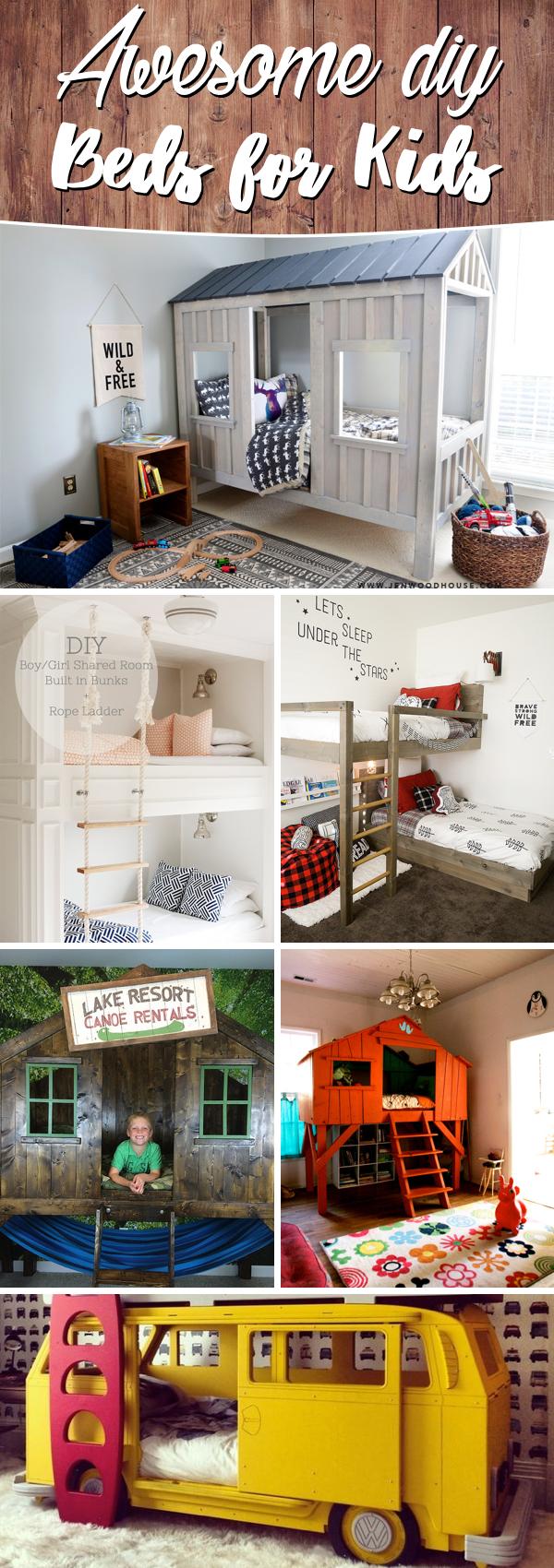 DIY Beds for Kids