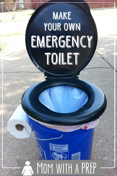 DIY Emergency Toilet
