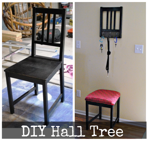 DIY Hall Tree