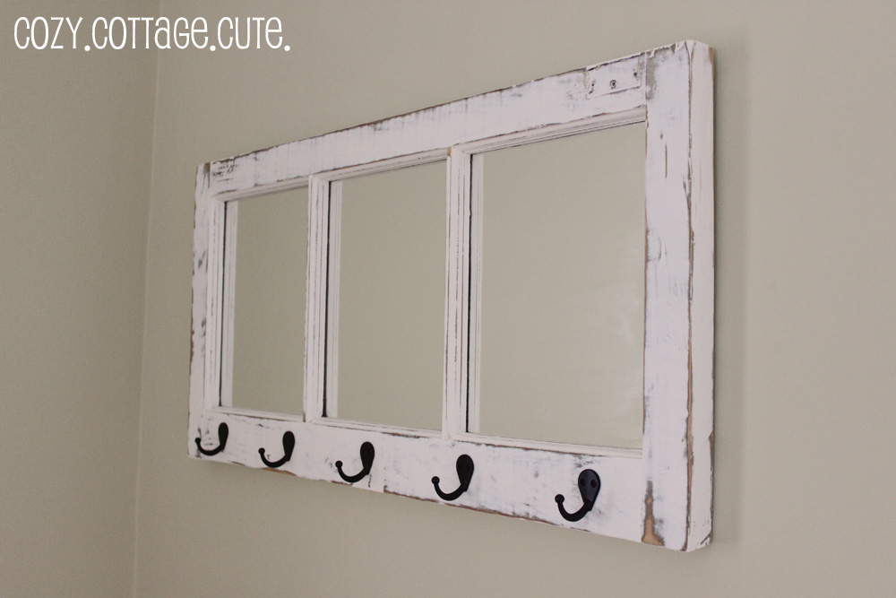 Decorative Mirror From Old Windows Cute Diy Projects
