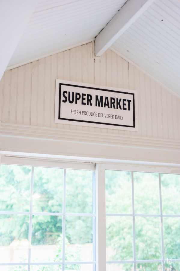 Fixer Upper Inspired Supermarket Sign
