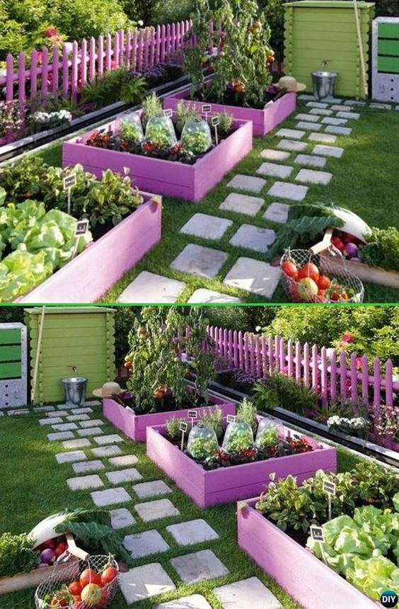 20 awesome ideas for garden edges that add new character for Unique landscape border ideas