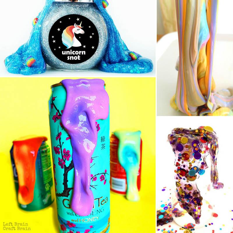 Heat Sensitive Color Changing Slime