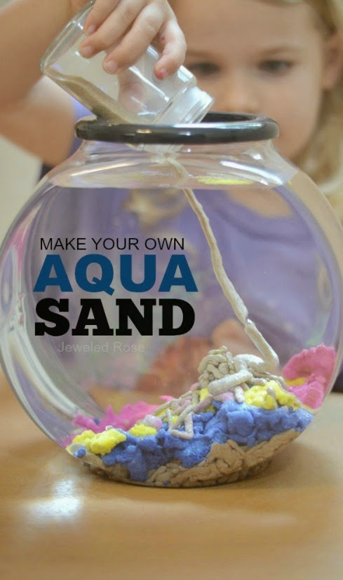 Homemade Aqua Sand Recipe