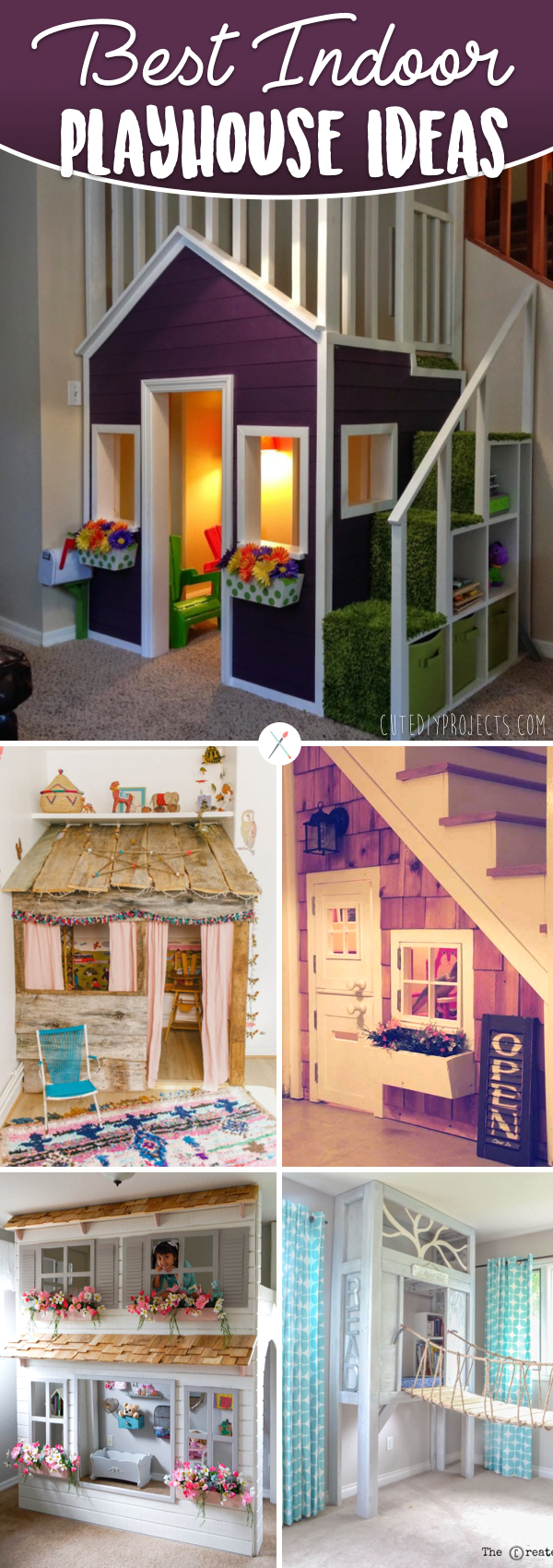 20 Indoor Playhouse Ideas Creating A