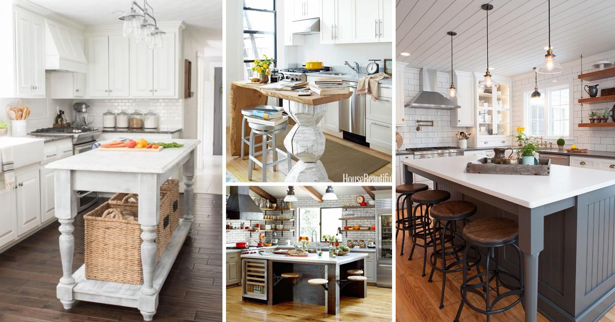 25 awe inspiring kitchen island ideas blending beauty with