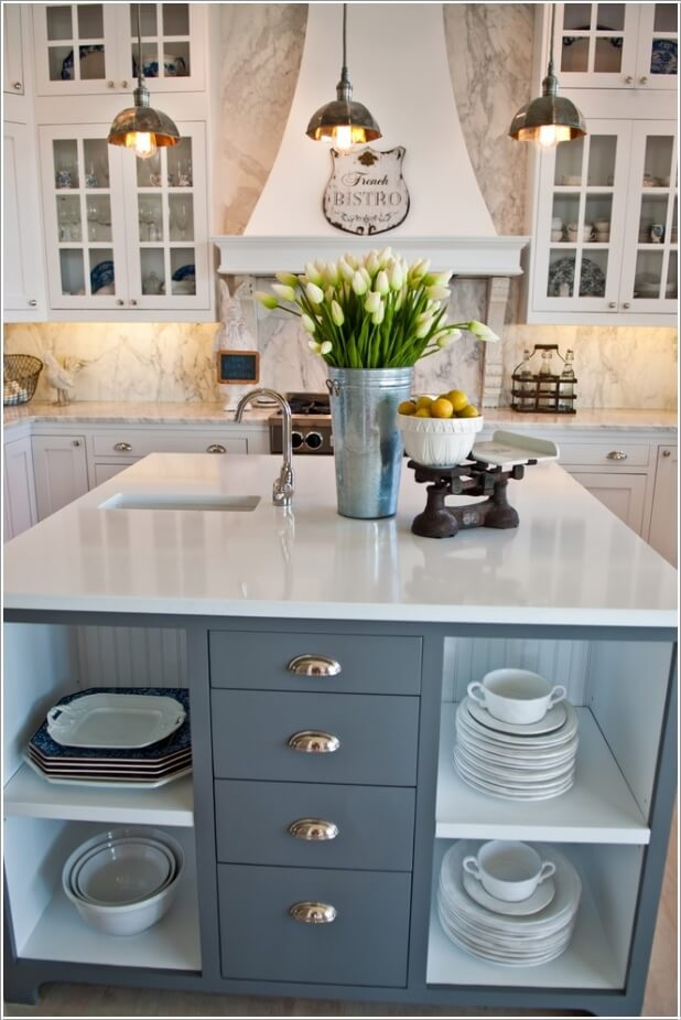 Kitchen Island with a Sink