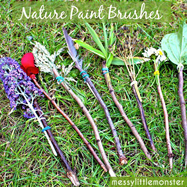 Nature Paintbrushes