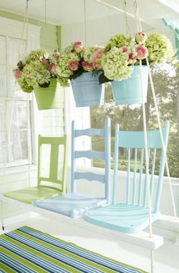 Old Chair Porch Swing