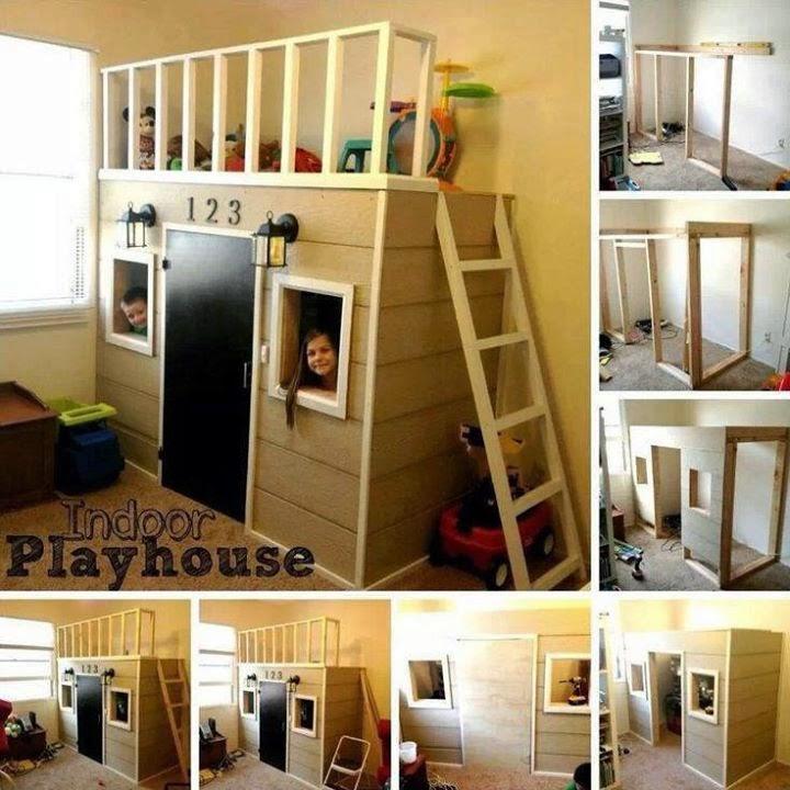 Rectangular Indoor Playhouse
