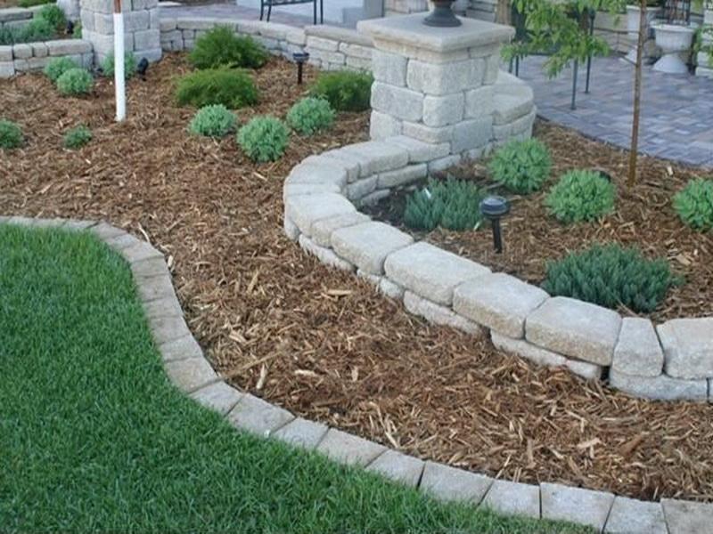 Round Stone Garden Edging