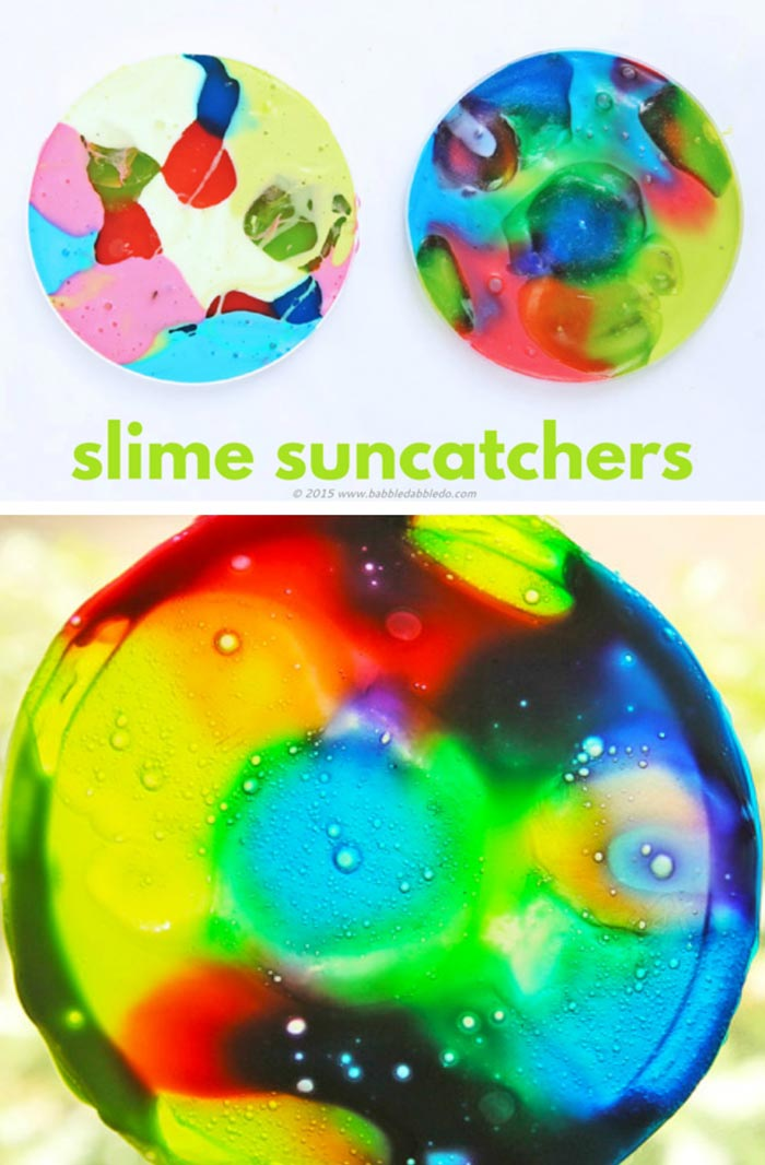Slime Suncatchers