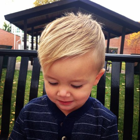 16 Super Trendy Baby Boy Haircuts for 16