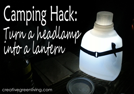 Turn Headlamp into a Lantern
