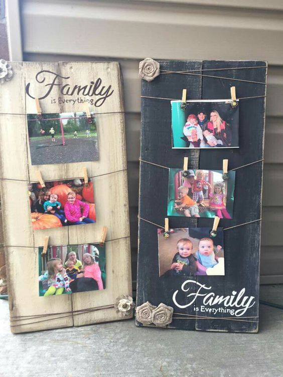 Wooden Picture Hanger