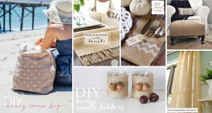 25 Ways How Burlap Decorations Can Beautify Your Home with A Dash of Rustic-cover