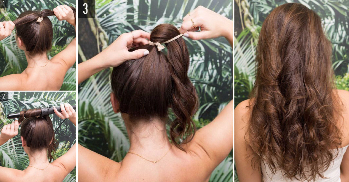 This Technique For 5 Minute Curls Will Let You Get The Ringlets Of