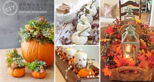 Breathtakingly Beautiful Fall Centerpieces