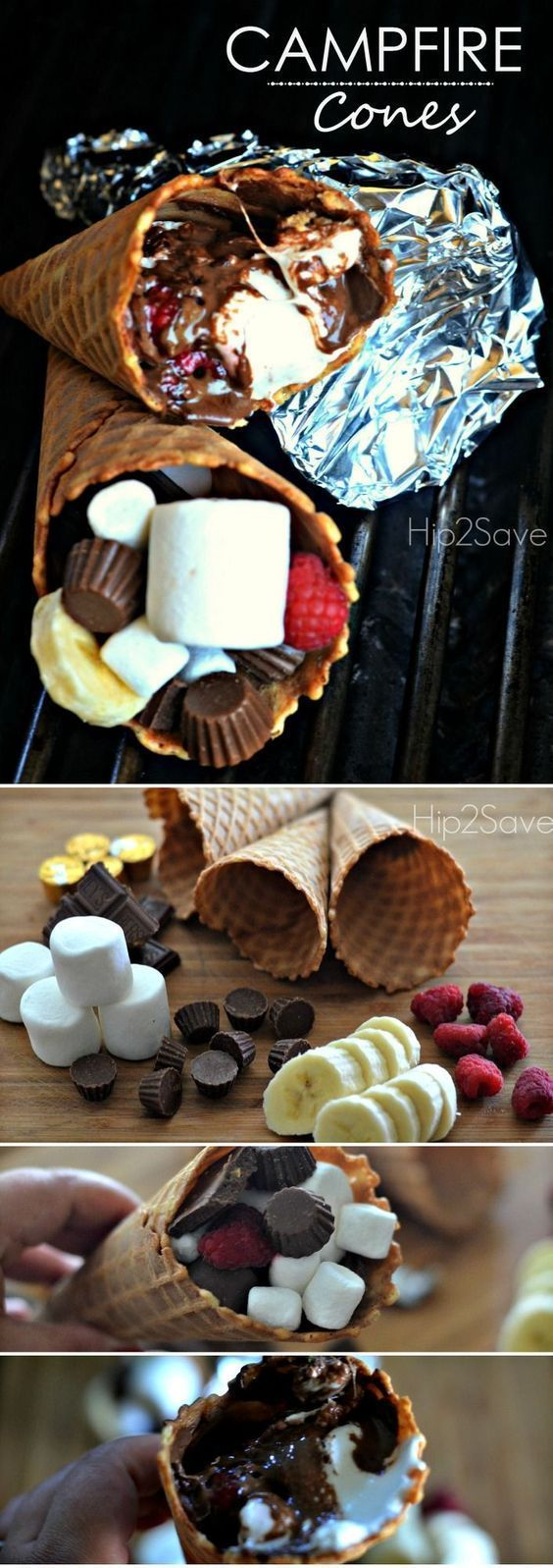 Campfire Cones : Fun and Easy Summer Dessert