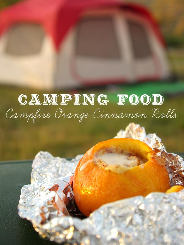 Campfire Orange Cinnamon Rolls