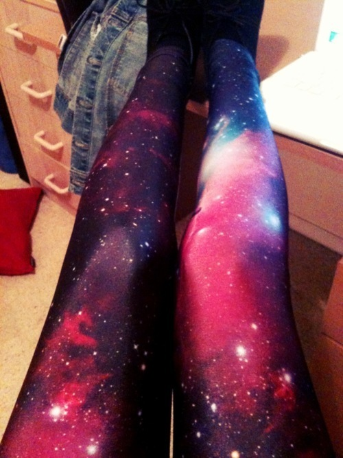 DIY Galaxy Leggings