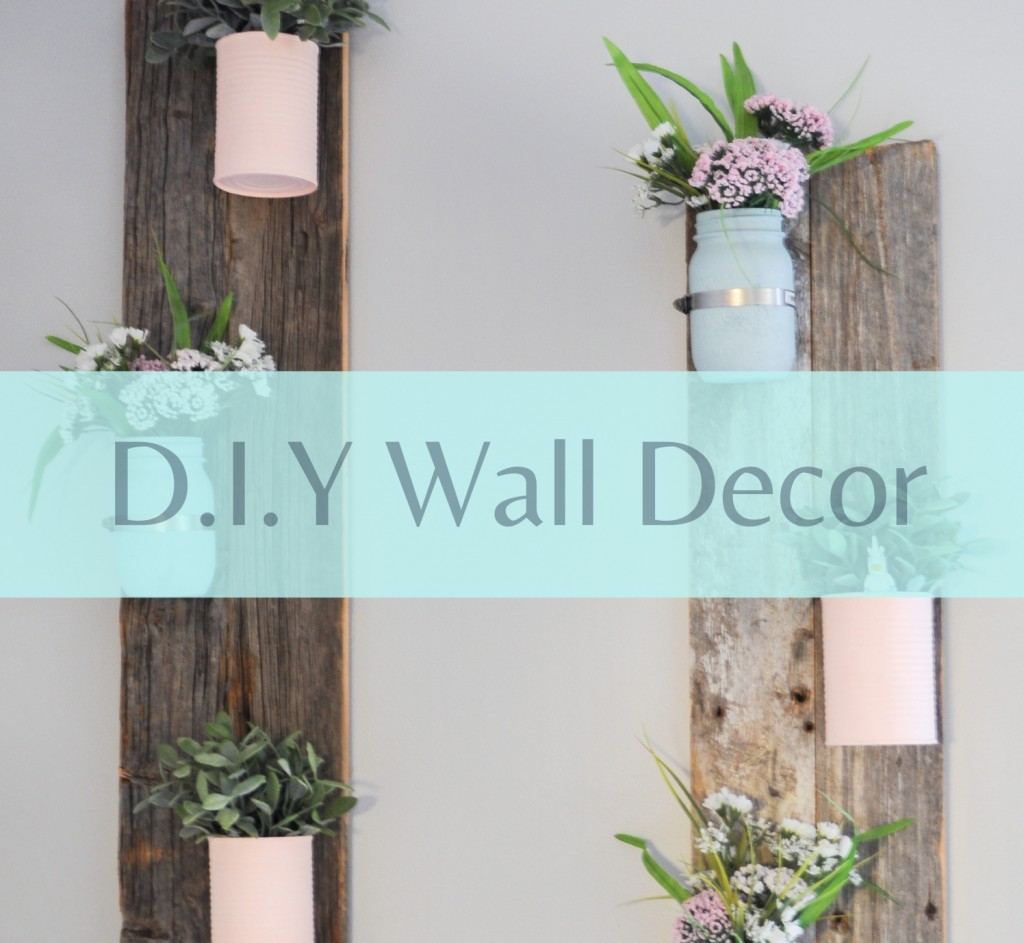 DIY Pallet Wall Decoration