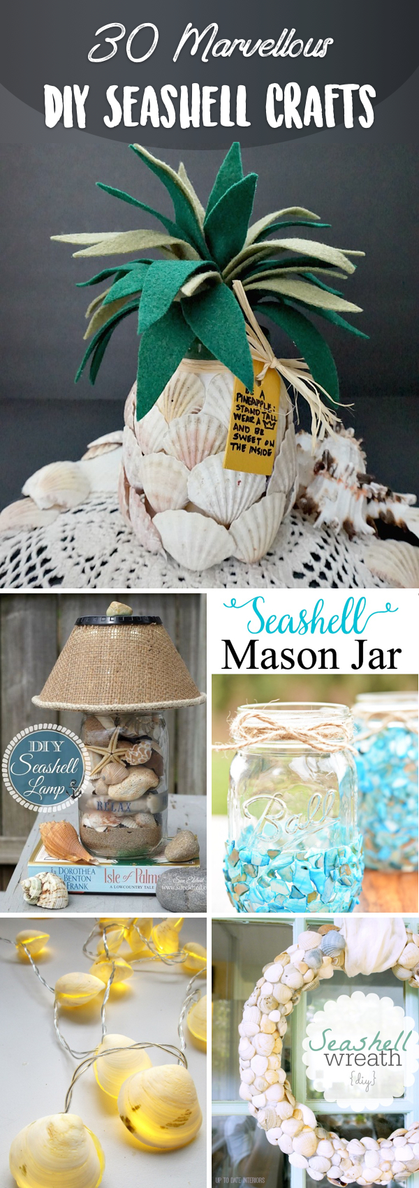 30 Marvellous Diy Seashell Crafts Adding A Beachy Flair To Your Space