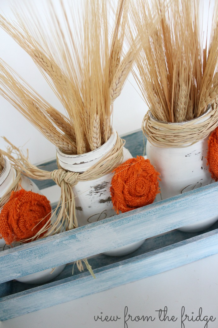 Easy Mason Jar Fall Centerpieces