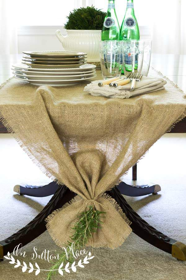 25 Ways How Burlap Decorations Can Beautify Your Home With