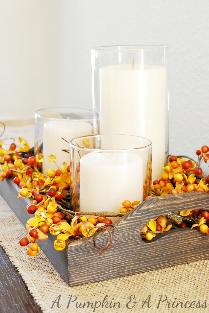 25 breathtakingly beautiful fall centerpieces screaming for Thanksgiving centerpieces with candles