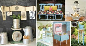 Incredible Ideas to Repurpose Old Chairs
