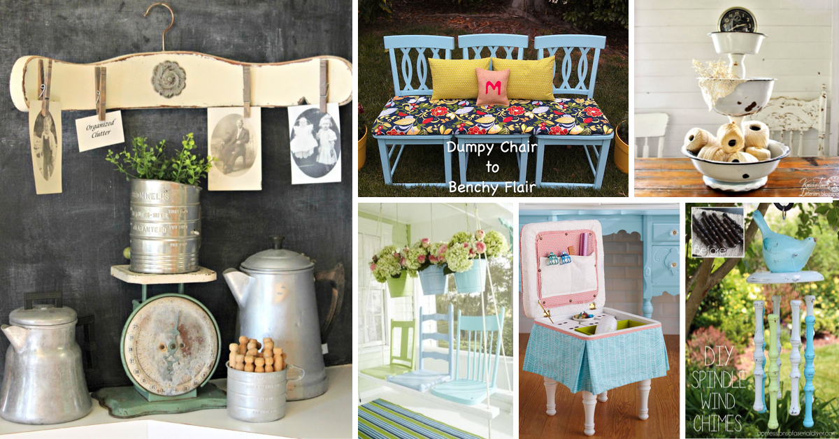 how to repurpose old furniture. 20 Incredible Ideas To Repurpose Old Chairs And Transform Them Into Brand New Stuff! How Furniture