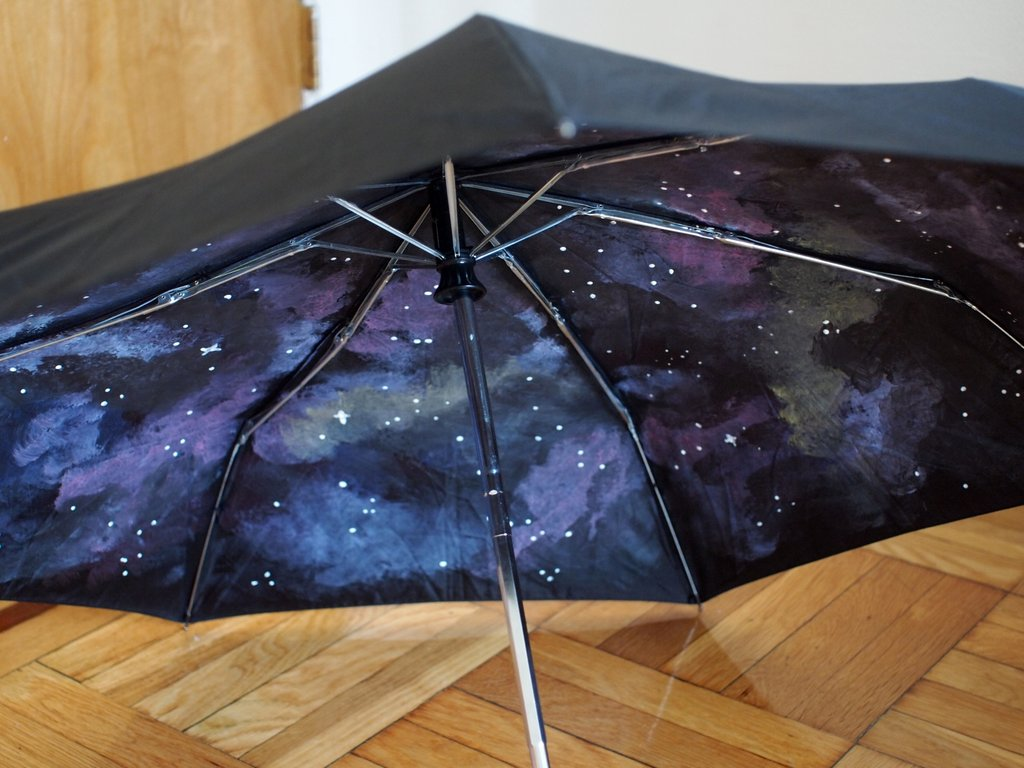 Paint Your Own Galaxy Umbrella