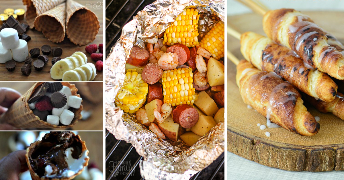 24 Quick And Easy Camping Food Ideas Delighting Your Tastebuds During The Adventure Cute DIY Projects