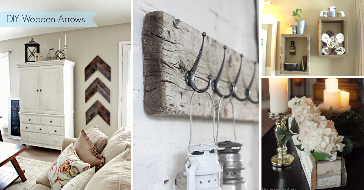 14 Rustic Barn Wood Projects Restoring the Oomph Factor Of Old ...