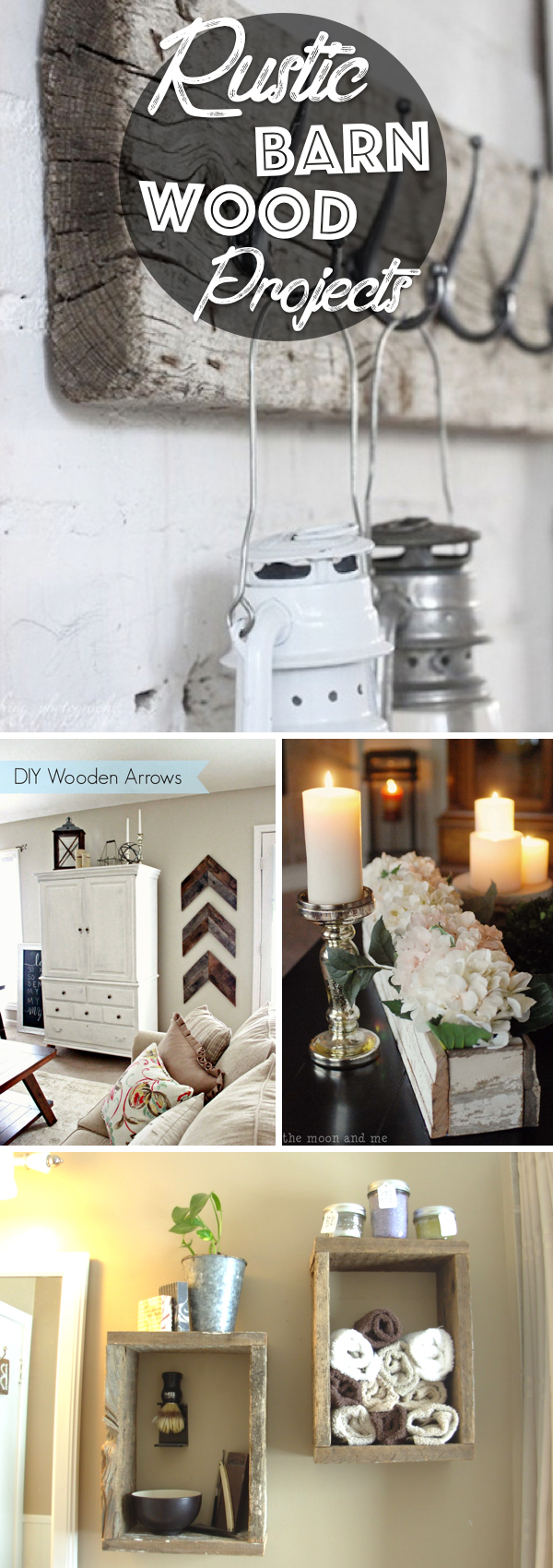 Rustic Barn Wood Projects