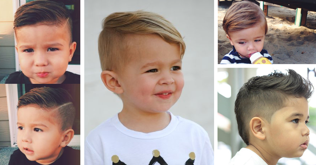 Hairstyles For Infant Boy: Little Boy Short Hairstyles 2016