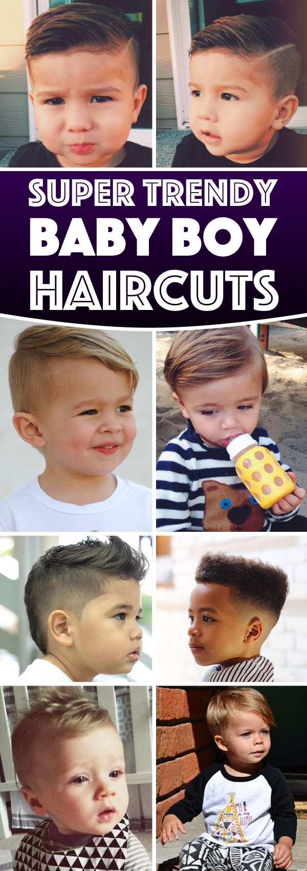 Trendy Baby Boy Haircuts