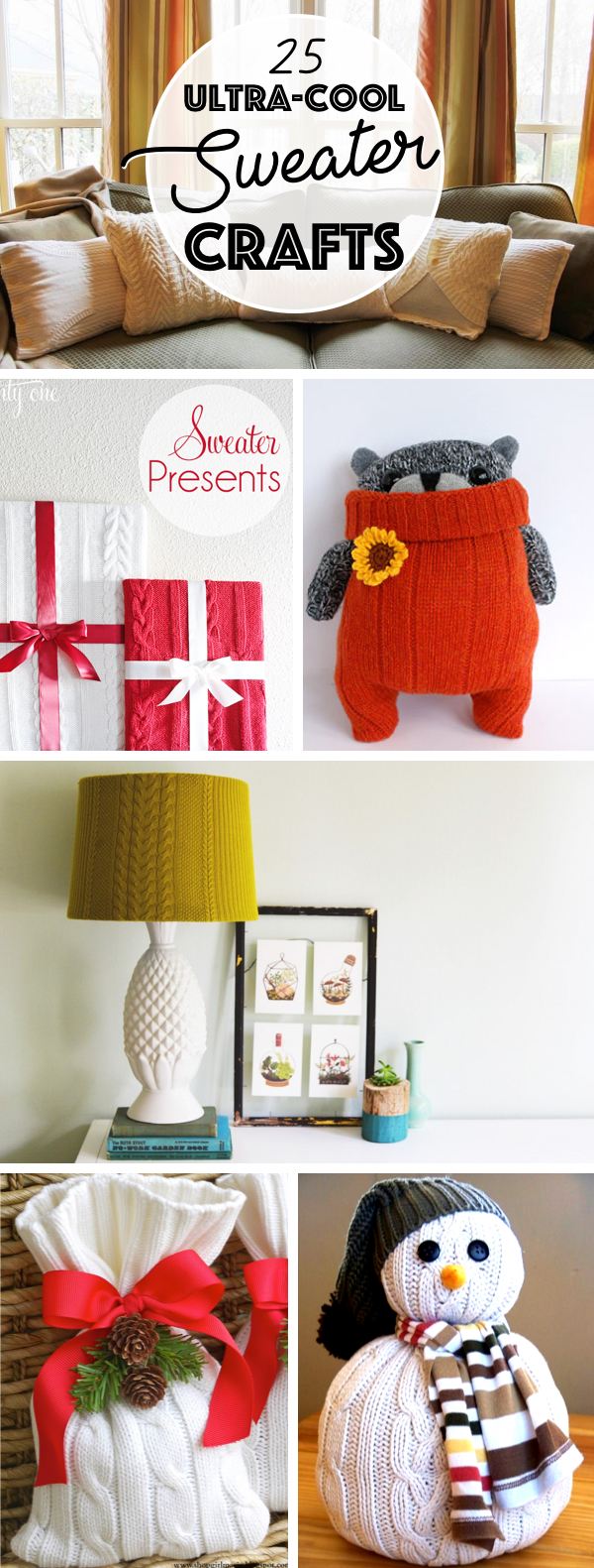Ultra-Cool Sweater Crafts
