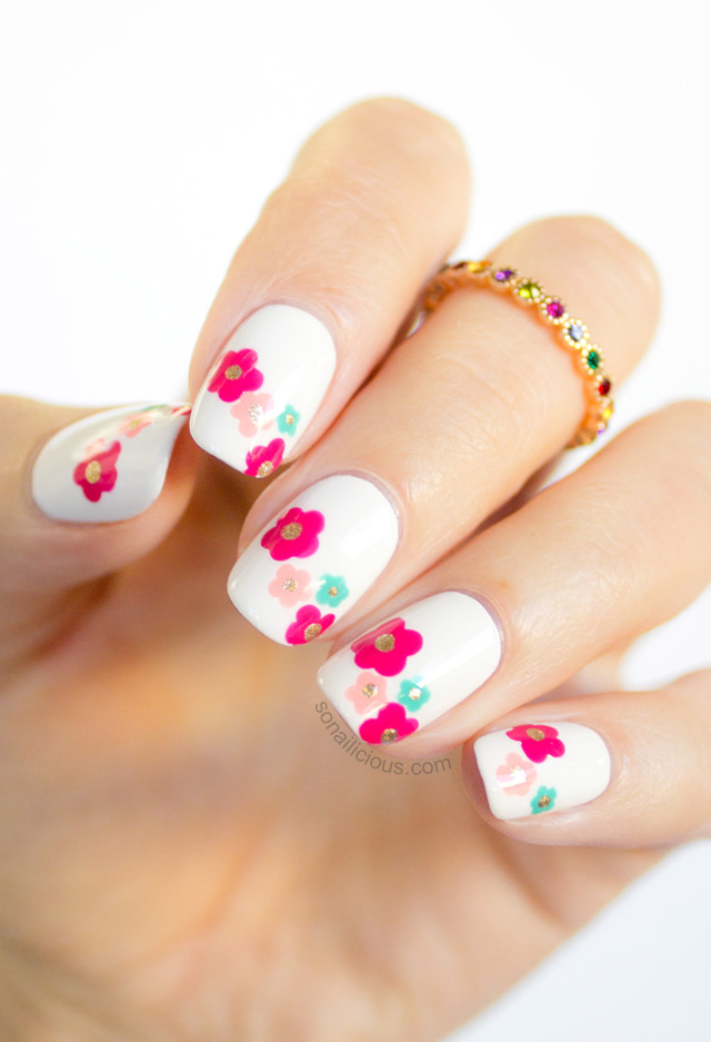 Daisy Delight Inspired Spring Nail Art