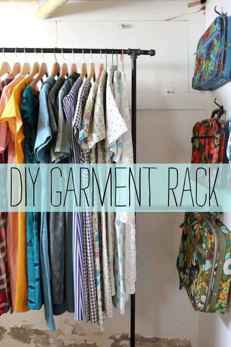 Garment Rack DIY