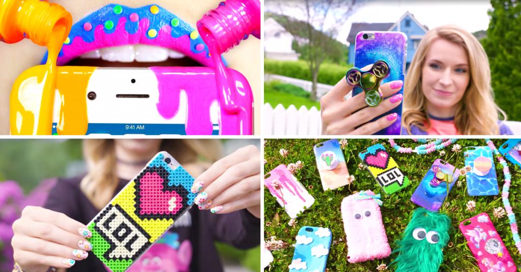 Incredible DIY Phone Case Ideas