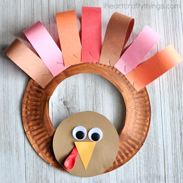 Thanksgiving crafts for kids to blend festivities with